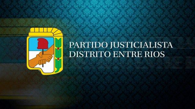 CONVOCATORIA CONSEJO PROVINCIAL PARTIDO JUSTICIALISTA DE ENTRE RIOS