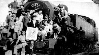 24 DE Mayo De 1951 Queda habilitado el flamante ferrocarril de Río Turbio