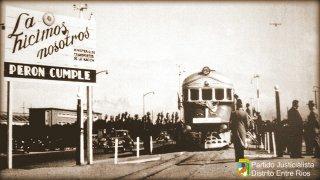 13 DE FEBRERO DE 1947: NACIONALIZACIÓN DE LOS FERROCARRILES